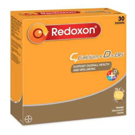 Redoxon Vitamin C + Calcium + D + B6 (30's)