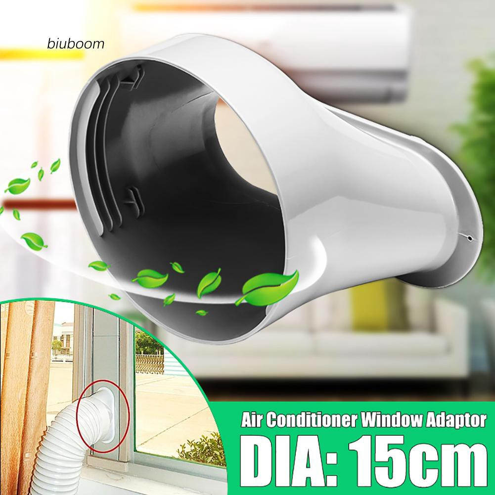 6inch Window Adapter for Portable Air-Conditioning 1pc+2Pcs Adjustable Window Slide Kit Plate Universal Fit for Air Outlet of 15cm Diameter