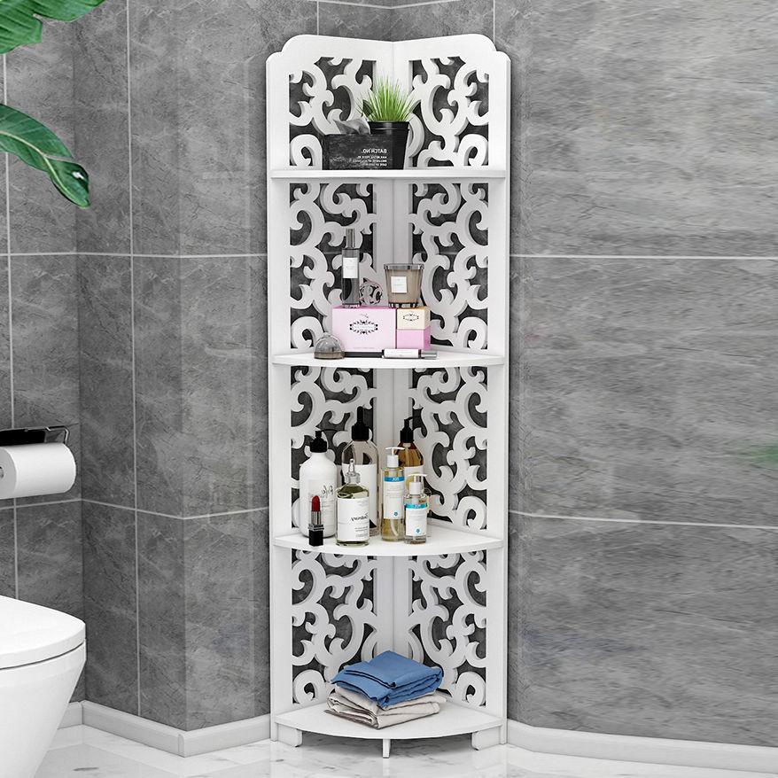 Bathroom Toilet Rack Wash, Bathroom Corner Storage Cabinet