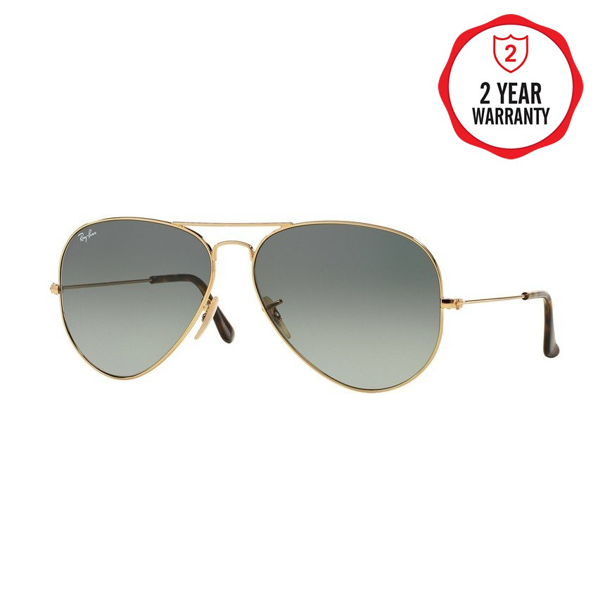 74355675355 Ray-Ban Aviator Large Metal - RB3025 L0205 - size 58 - Sunglasses ...
