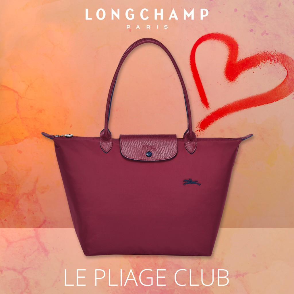 b551b9d13f3 LONGCHAMP Le Pliage Club 1623 Medium Tote Bag - Khaki | Shopee Singapore