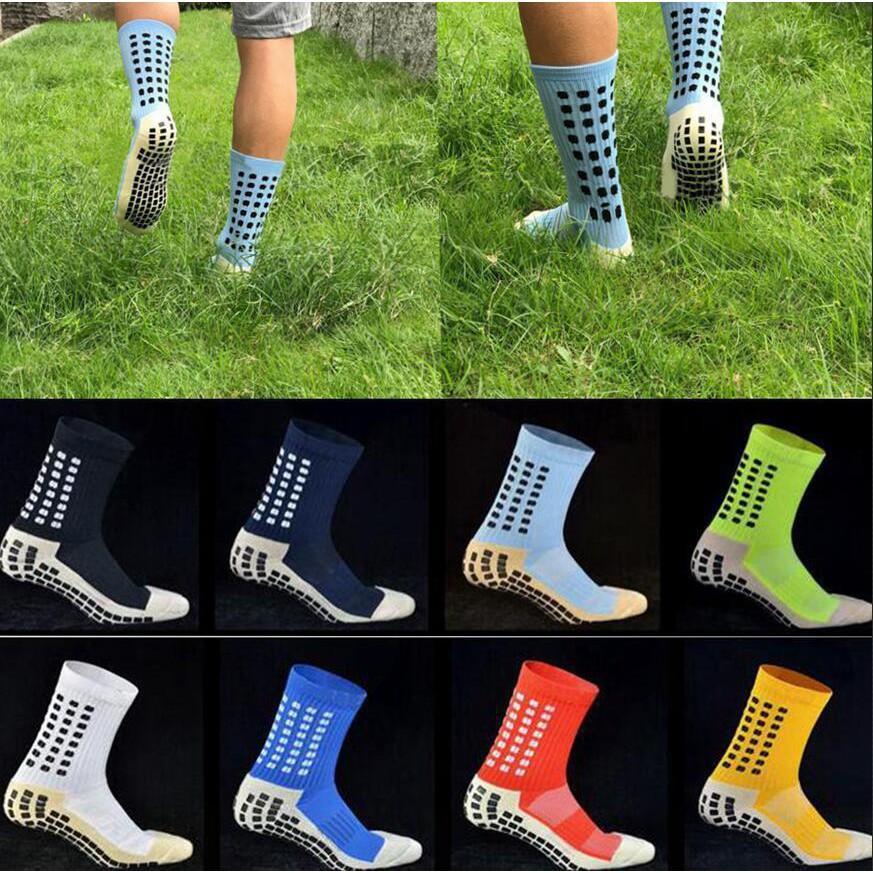 9c84c1c0190d Team Comfy Cotton Trusox Tocksox Style Anti Slip Football Soccer Sports  Socks