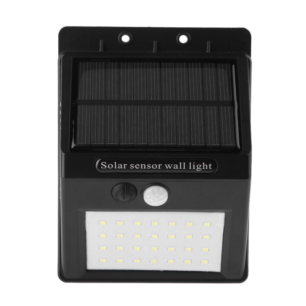 Led Lamps Lights & Lighting Hearty 4w Solar Three-sided Light 100led Pir Motion Sensor Wall Light 158led Flame Wall Lamp Outdoor Waterproof Garden Lighting