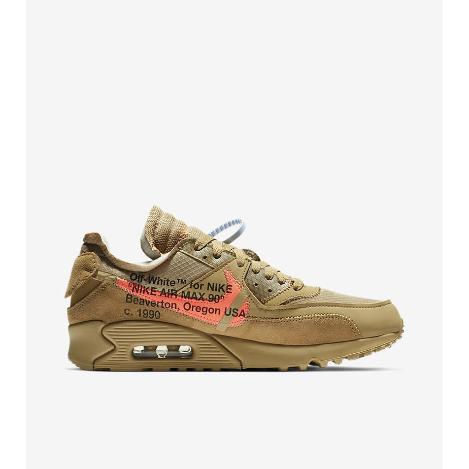 6fa216188cf2 🔥 In Stock🔥 US6 to 13 Nike Off White Air Max 90 Desert Ore ...