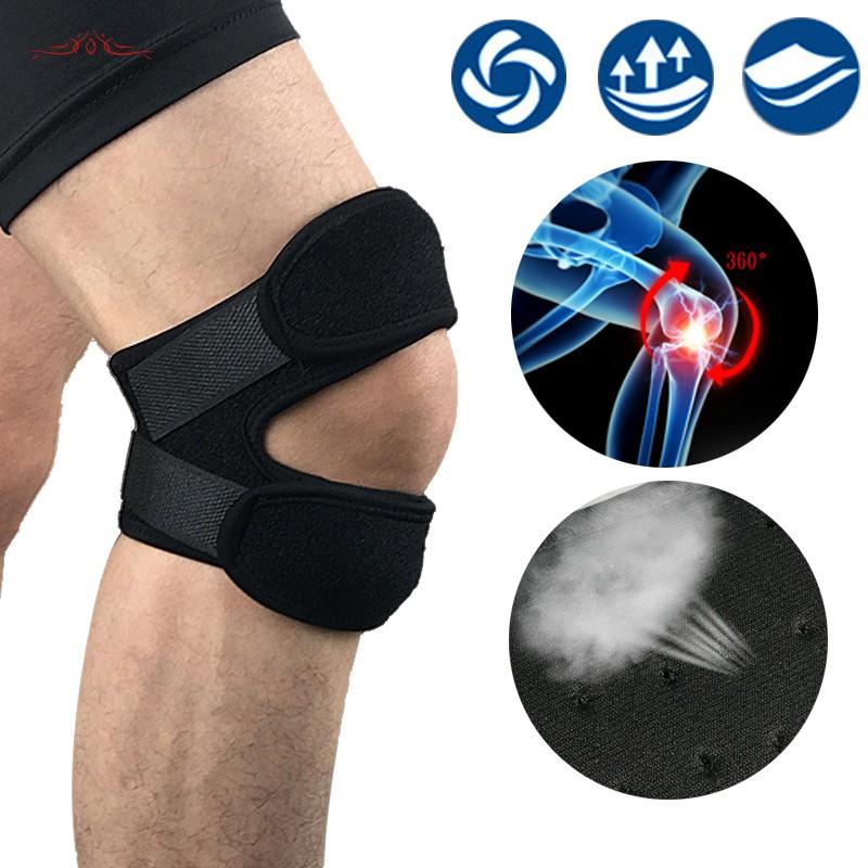1 Pc Adjustable Sports Knee Pad Protector Outdoor Fitness Gym Hiking  Running Patella Leg Guard   Shopee Singapore