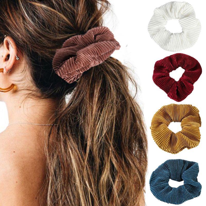 24 Stretch HEADBANDS elastic hair holders ties ponytail Head Bands Sweatbands