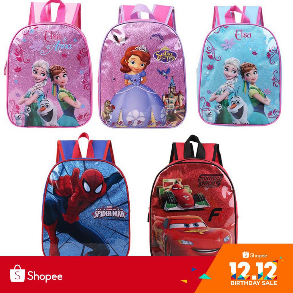 31e4a43aca Beautiful Frozen Children s School Bag Spider-Man for Boys and Girls  Backpack