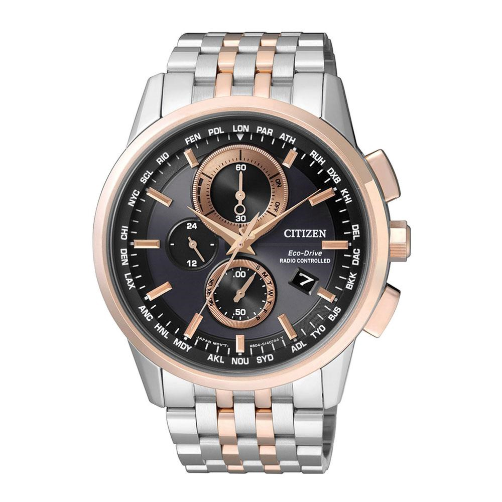 Citizen Eco Drive Radio Controlled Chronograph At8124 83m Mens Watch Ca4285 50h Shopee Singapore