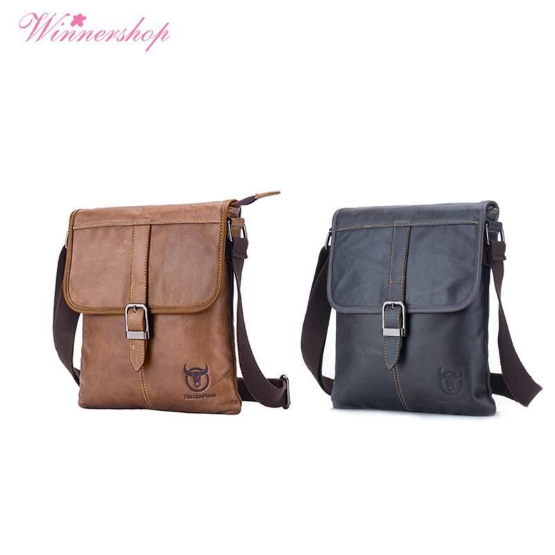 Bullcaptain Men S Bag Genuine Leather