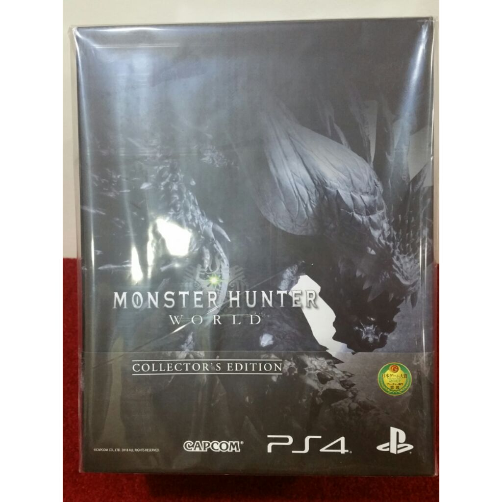 Monster hunter ps4 Collector Edition Brand New sealed