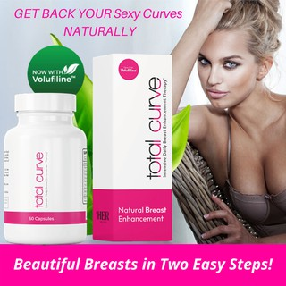 TOTAL CURVE™ [ Bust Supplement + Gel ] NATURAL Breast Enhancement Lift +  Firm | Results in 2 Months | Shopee Singapore
