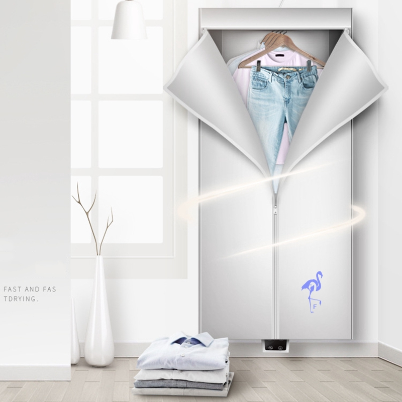 Portable Clothes Dryer Electric Laundry Drying Rack Foldable Dryers For Apartment Home Travel Shopee Singapore