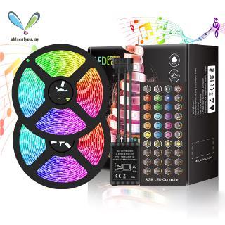 BY LED Strip Lights Set Sync to Music Flexible RGB Remote ...
