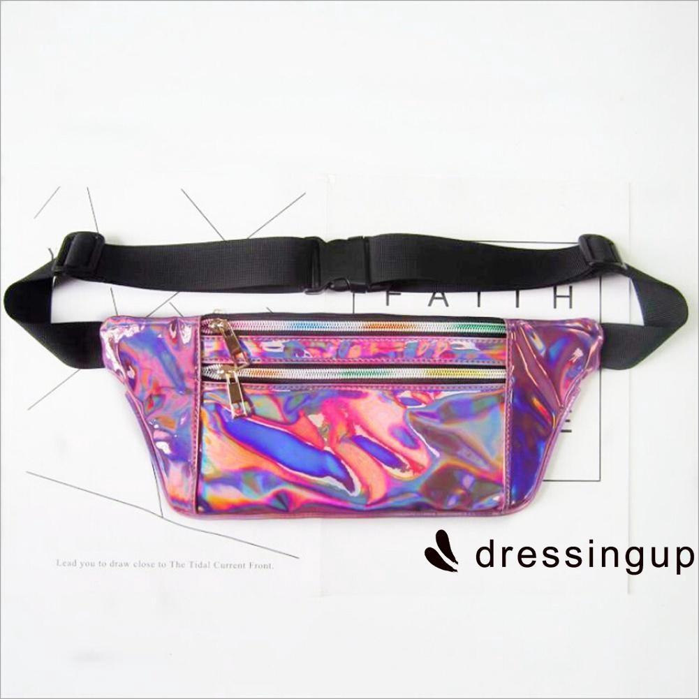 Pouch Beauty Purse Evening Bag Glitter Belt Fanny Waist Mermaid Bum Pack  Sequin  f1ad77f87e48