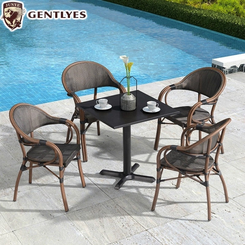 Outdoor Tables And Chairs Courtyard, Patio Furniture Table