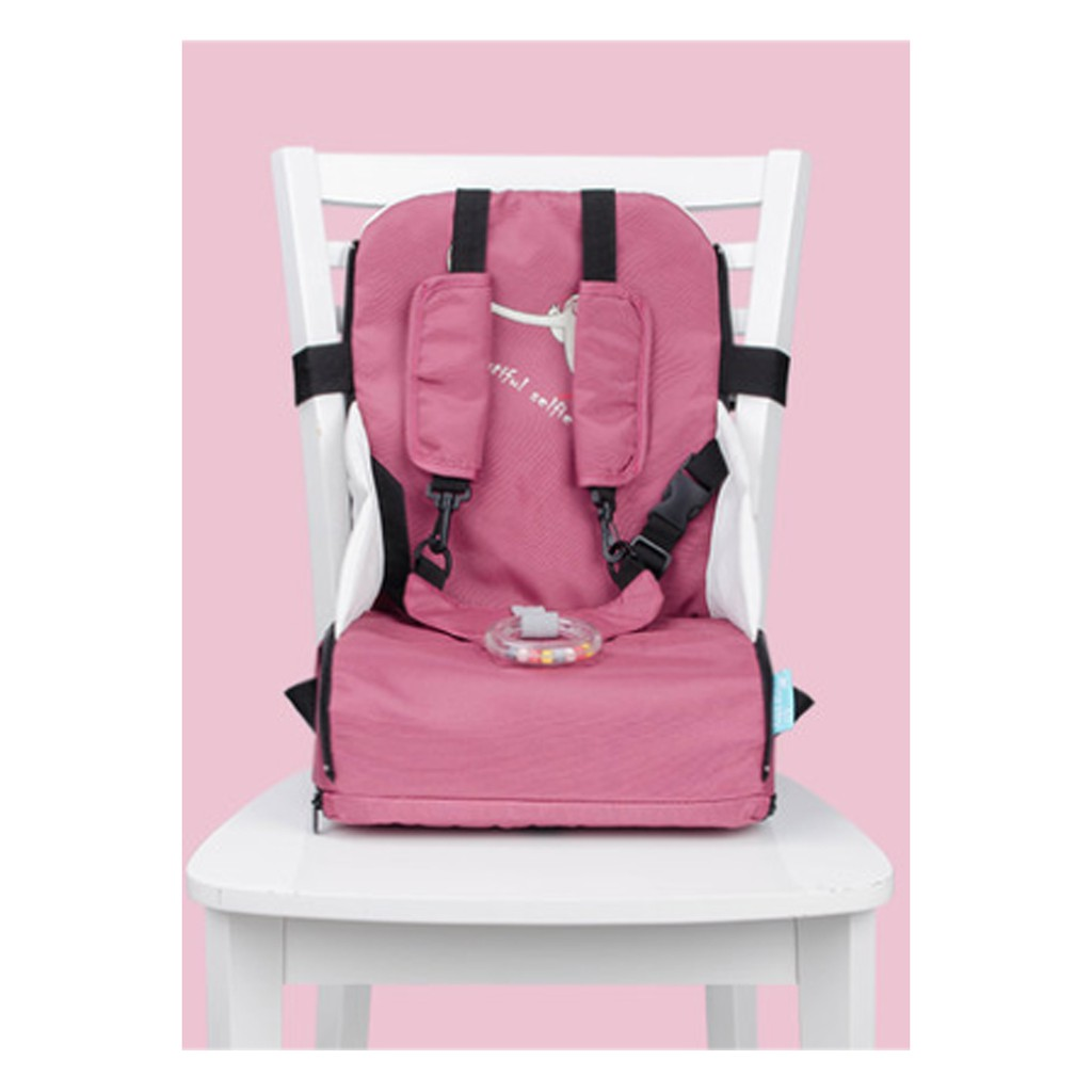 Infant Portable Booster Seat Baby Toddler Kids Folding Dining Chair Pad New