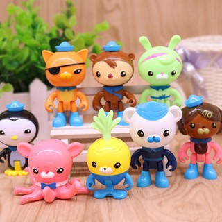 Octonaut Christmas.Children 8pcs Set Octonauts Kids Cartoon Toys Collection