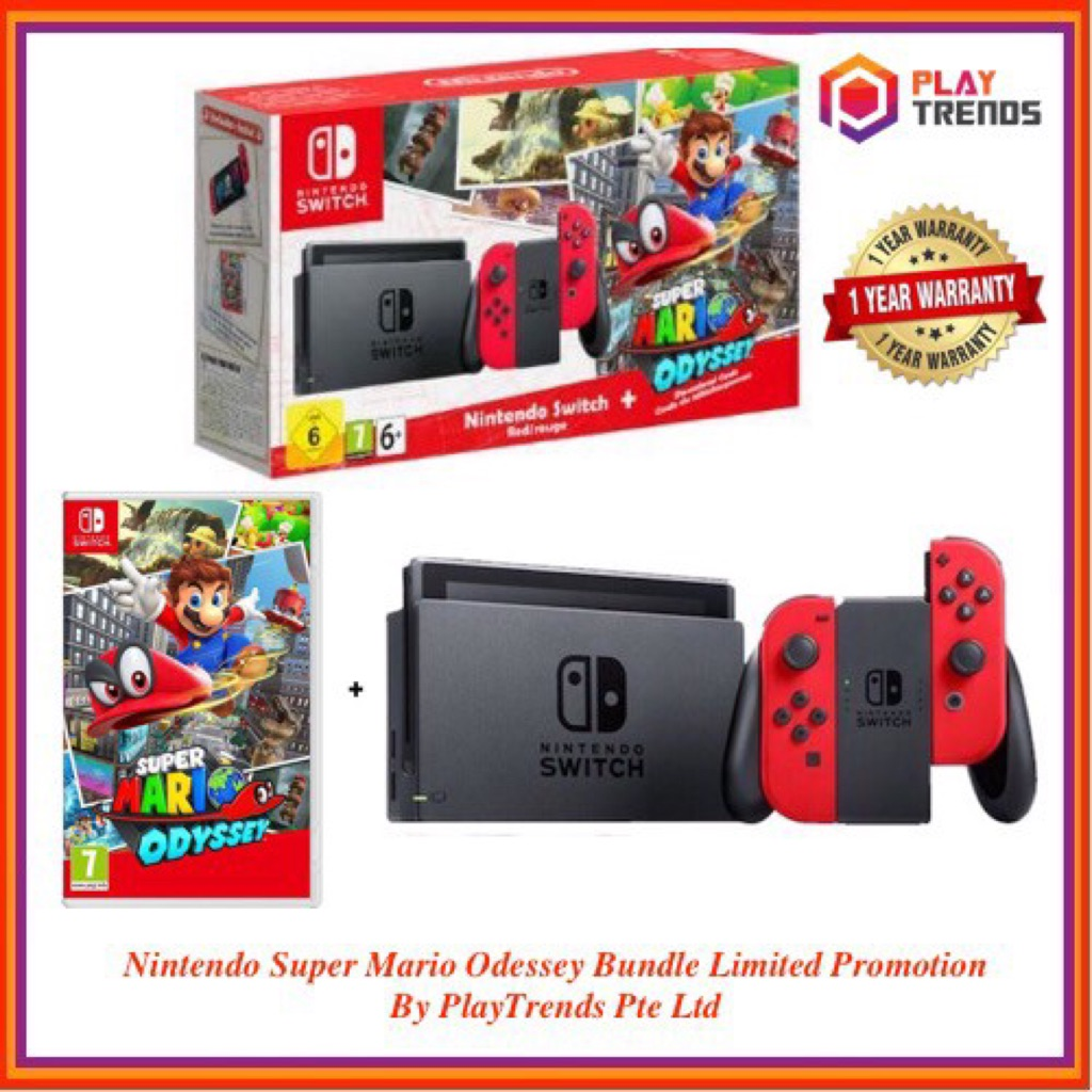 Nintendo Switch Super Mario Odyssey Edition Local Set Sold Out