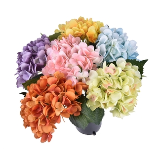 Grace Stores Artificial Flowers Bundle Silk Hydrangea Diy Home Wedding Christmas Decoration Shopee Singapore