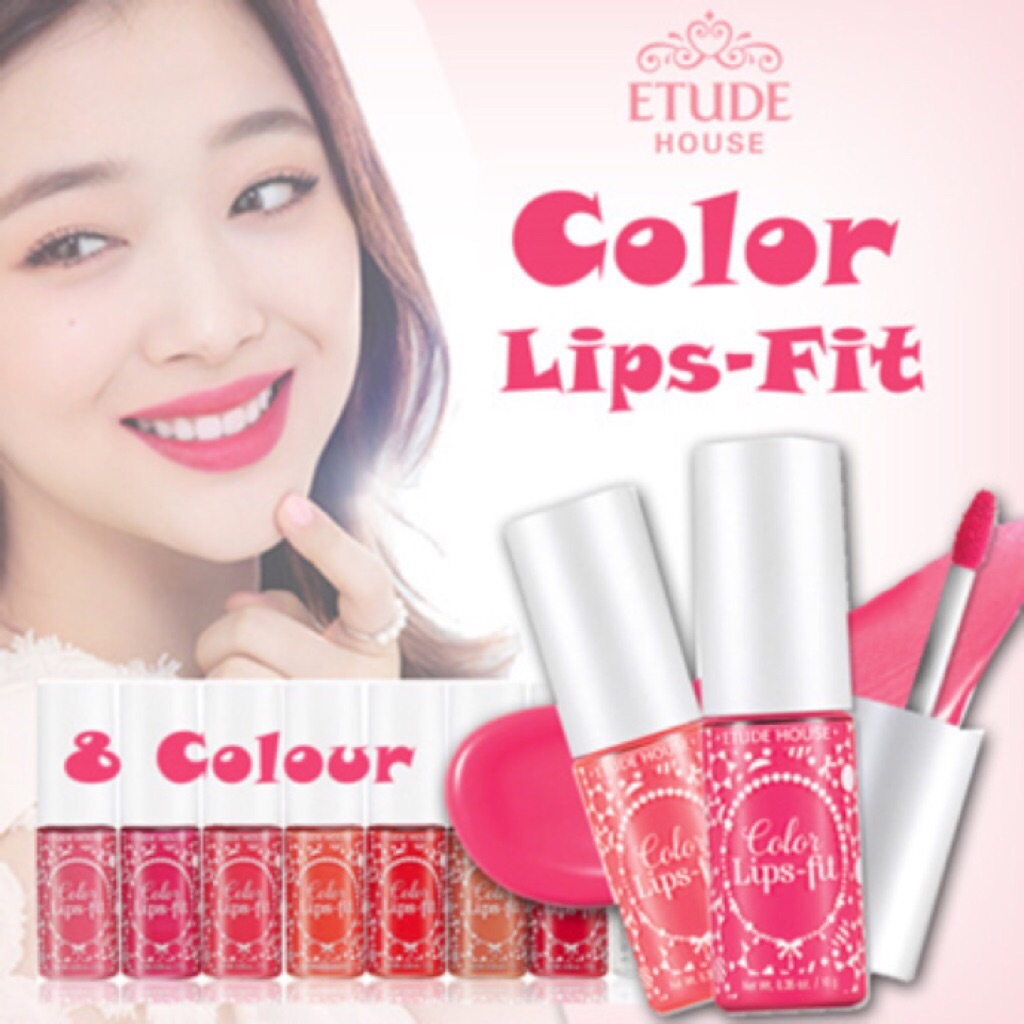 Étude House Color Lips Fit in PK02 | Shopee Singapore