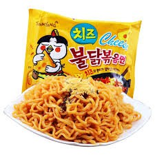 Halal Samyang Super Spicy Cheese Hot Fire Korea Instant Noodle