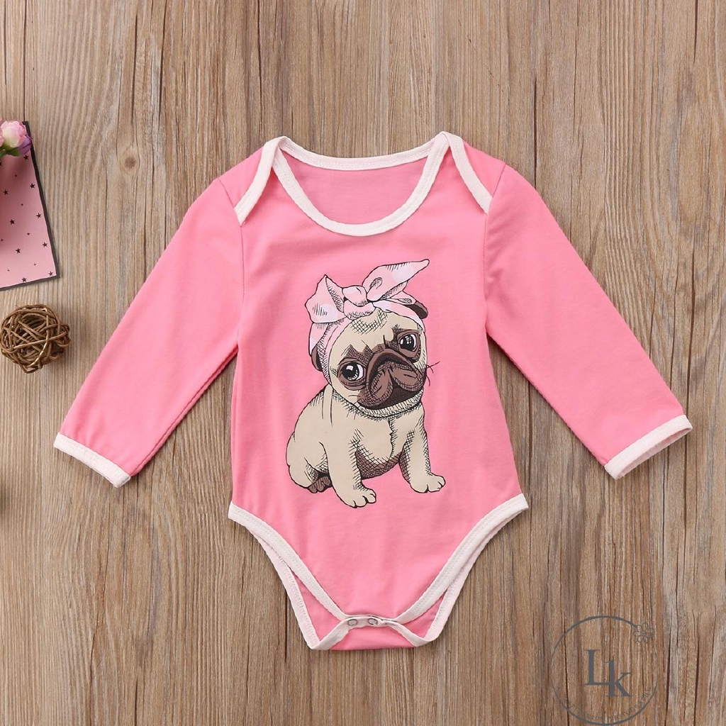Unicorn French Bulldog Baby Unisex Short Sleeve Romper Jumpsuit 0-2T