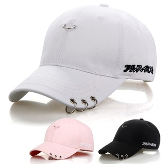 Ready-Stock-Korean-Iron-Ring-Baseball-Cap-Sports-