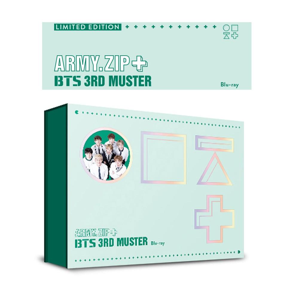 BTS 3rd MUSTER [ARMY ZIP+] Limited Edition [Blu-Ray] / Bangtan Boys / kpop