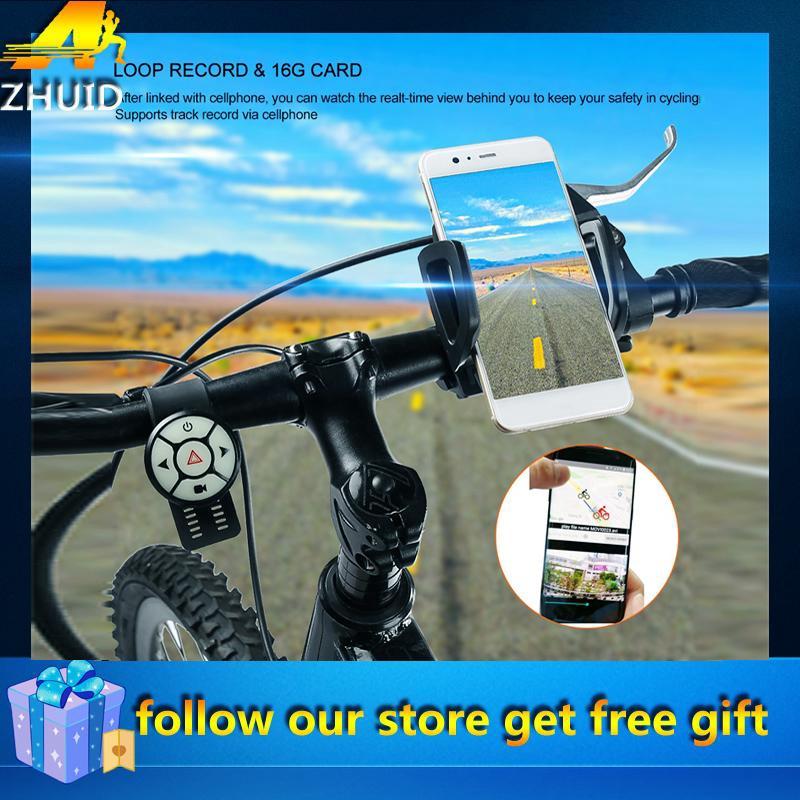 5 Leds Outdoor Biking Front Flash Light 5 LED Rear Warning Tail Light Lamp ZH
