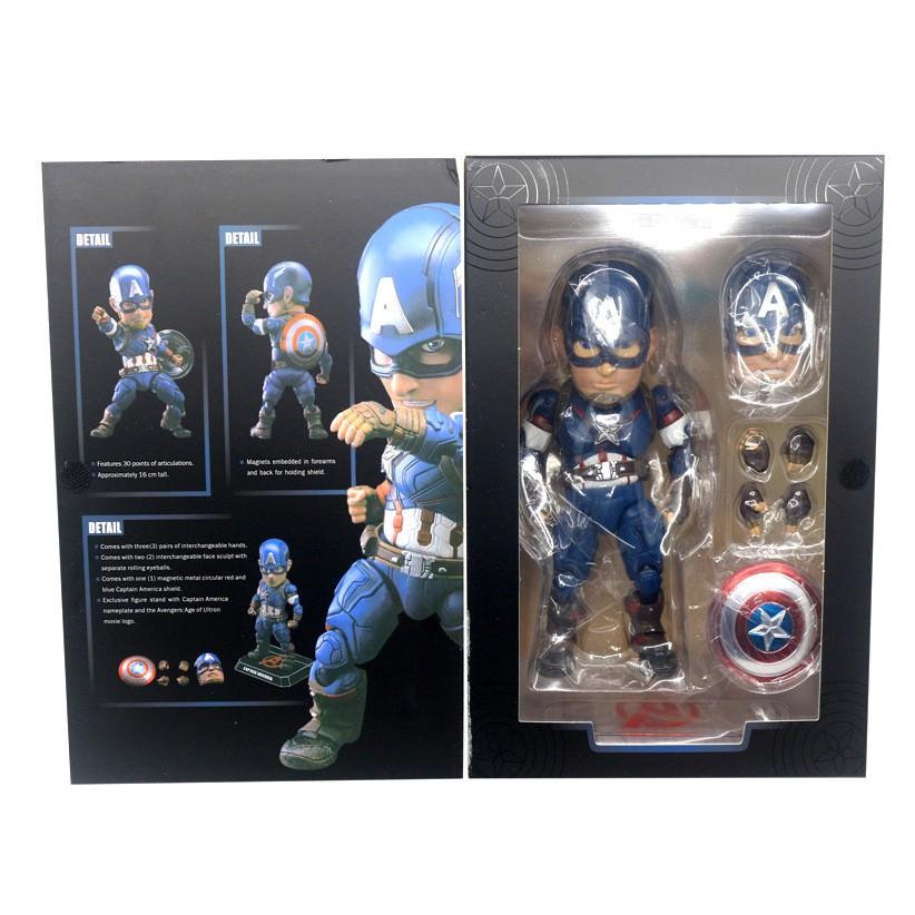 Boys captain America superhero dummy clip custom name handmade