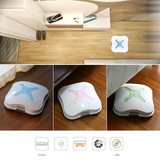 Mini Automatic Smart Floor Cleaning Robot USB Auto Vacuum Cleaner Sweeper