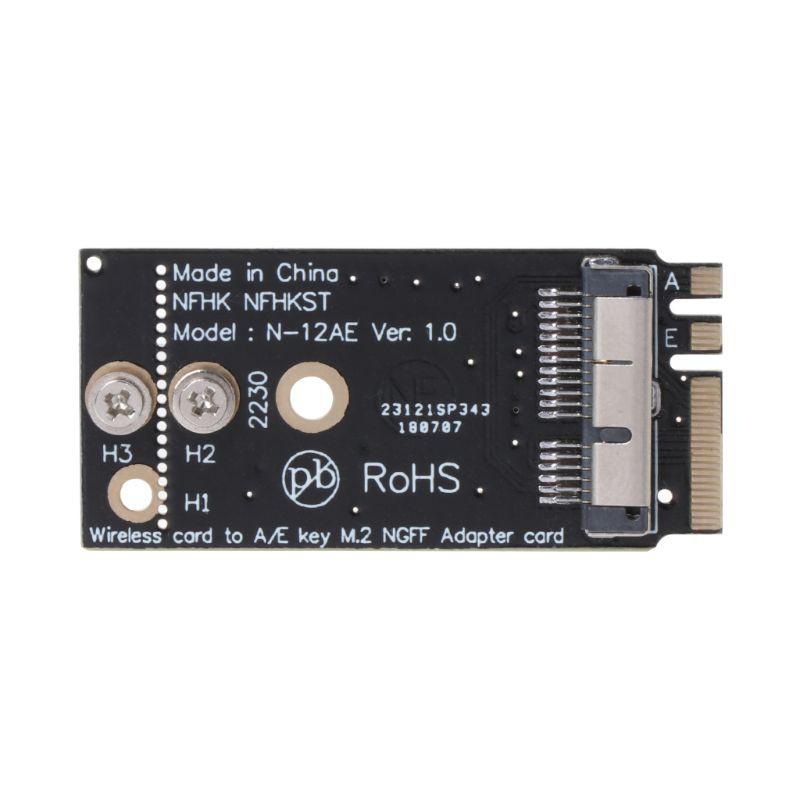 BCM94360CS2 BCM943224PCIEBT2 12+6 Pin WIFI wireless card module to NGFF M.2 XL
