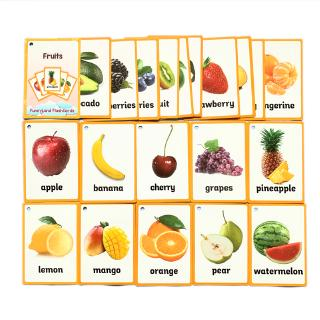Children English Cognitive Flash Card