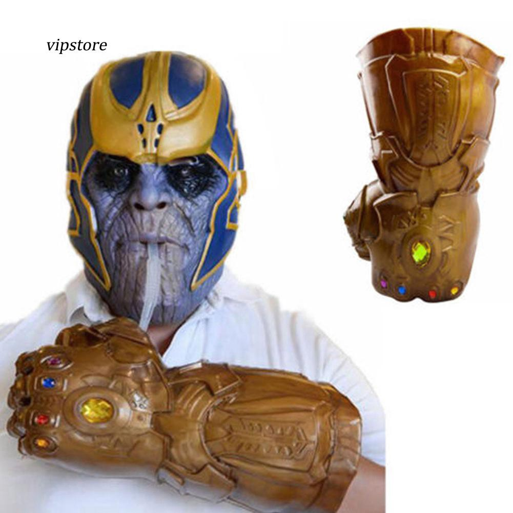 Thanos Infinity EndGame Gauntlet Glove Cup Infinity War Avengers Cosplay Prop