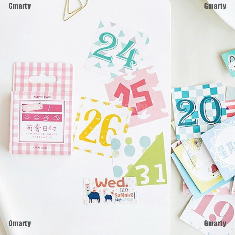 Cardmaking & Scrapbooking Supplies 45pcs Paper Adhesive'Stickers DIY Ablum Diary Scrapbooking Labels Stickers Decor