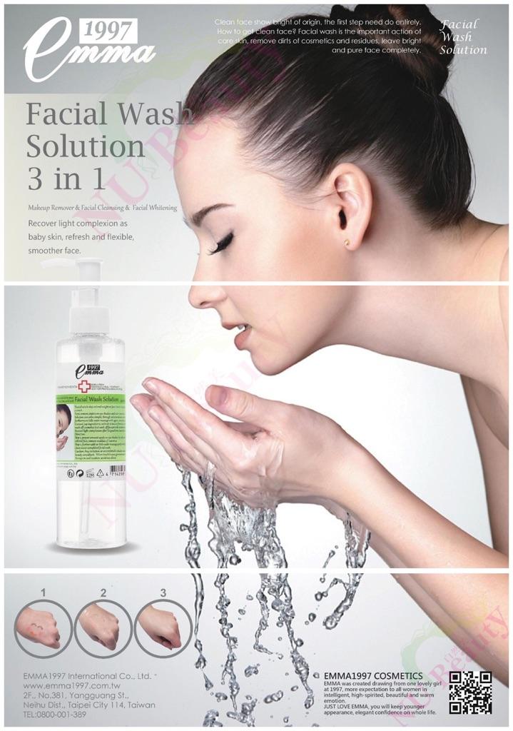 Image result for Emma 1997 Facial Wash Solution 220ml