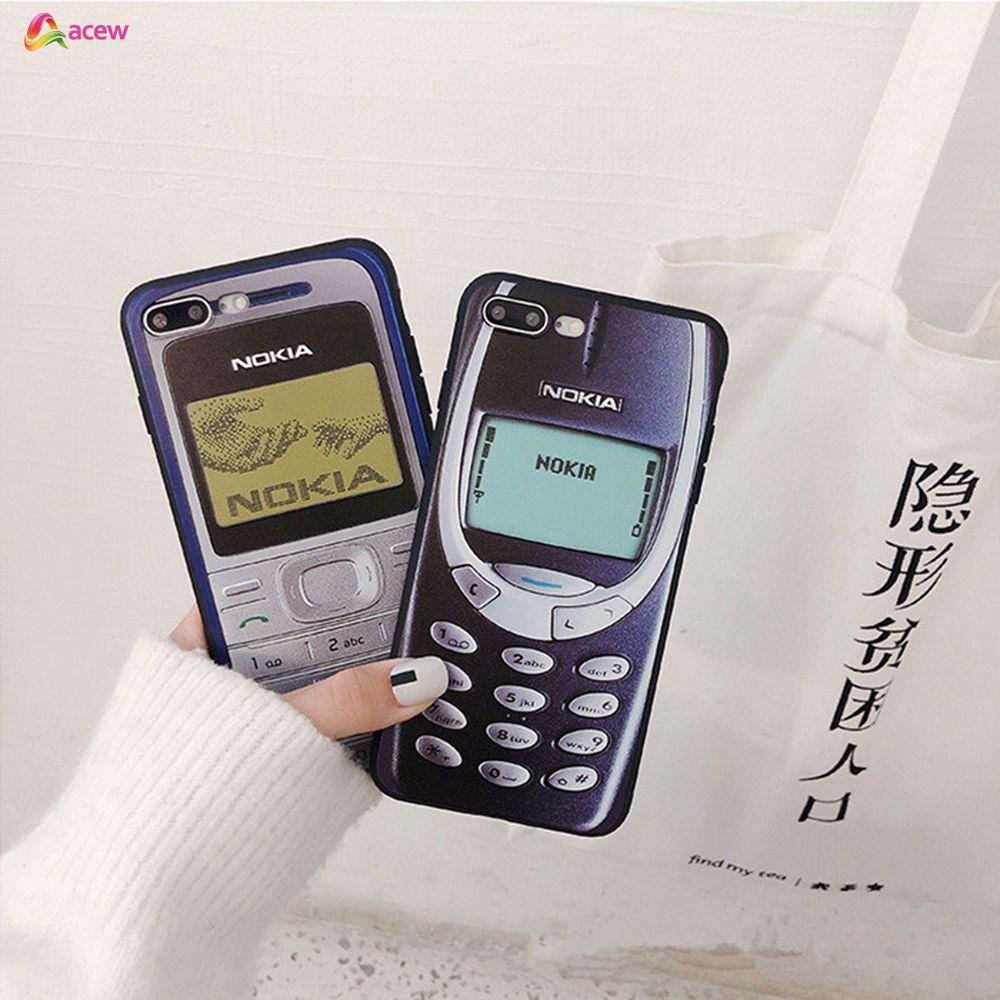 ✪COD✪ IPhone 6 6sPlus 7 7 Plus X XR Xs Max Soft Silicone Funny Print Nokia  Cases
