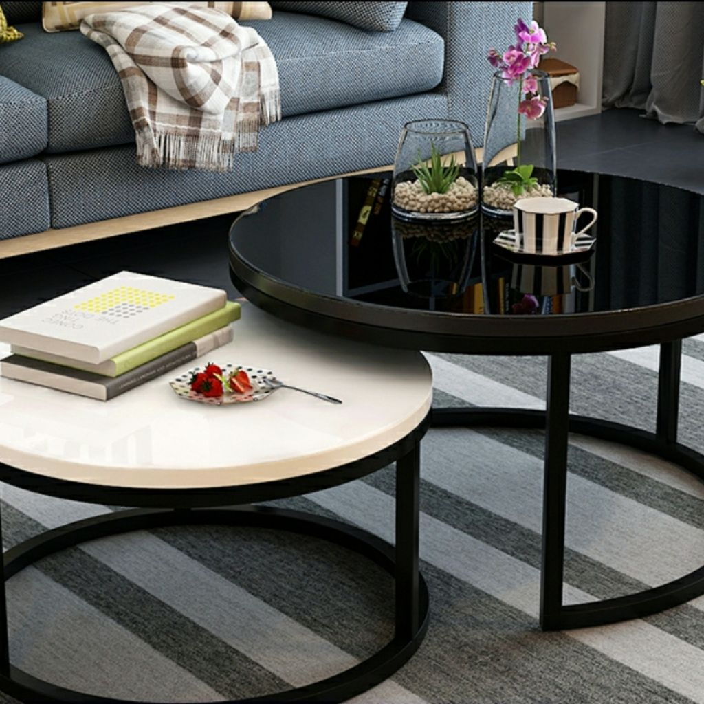 Coffee Table Tempered Glass Top Shopee Singapore [ 1024 x 1024 Pixel ]