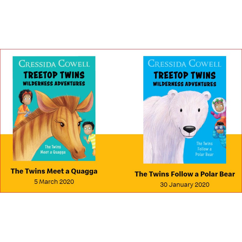 Mcdonald S Mcdonalds Happy Meal Reader Mcd Book By Cressida Cowell Treetop Twins Wilderness Adventures Shopee Singapore