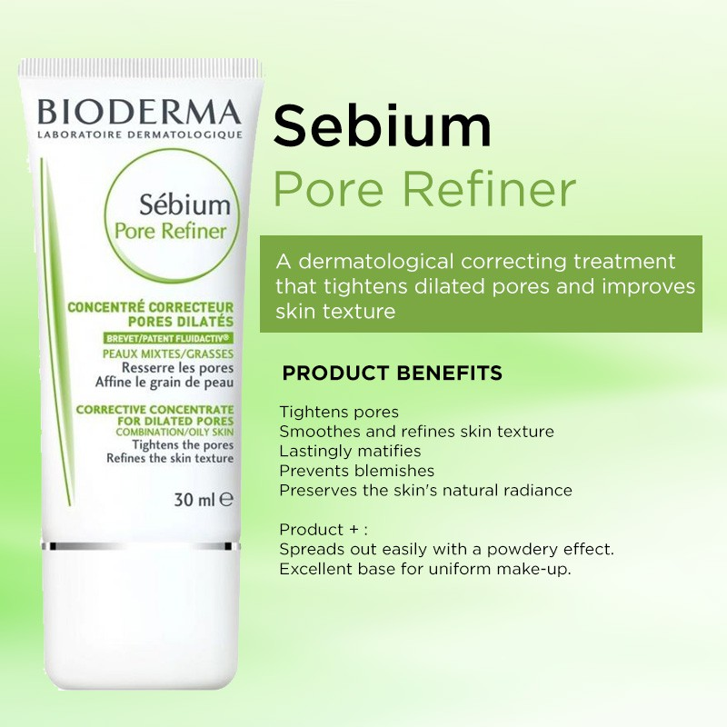 Bioderma Sebium Pore Refiner 30ml | Shopee Singapore