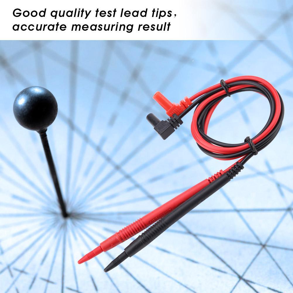 PT1006 1000V Needle Point MultiMeter Test Probe Lead for Digital Multimeter RW