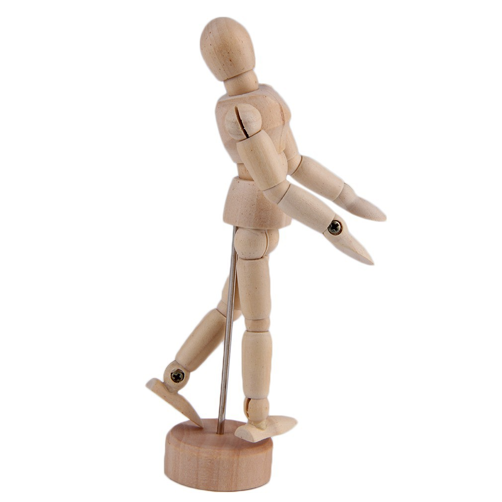 Draw Manikin Active Joint Figure Active Joint Puppet Male Toy Movable Limbs | Shopee Singapore