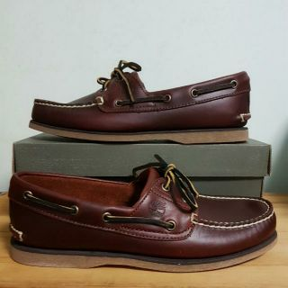o rozsądnej cenie ekskluzywne buty kup tanio Free Courier! Authentic Timberland Classic Root Beer Brown Boat Shoe Instock