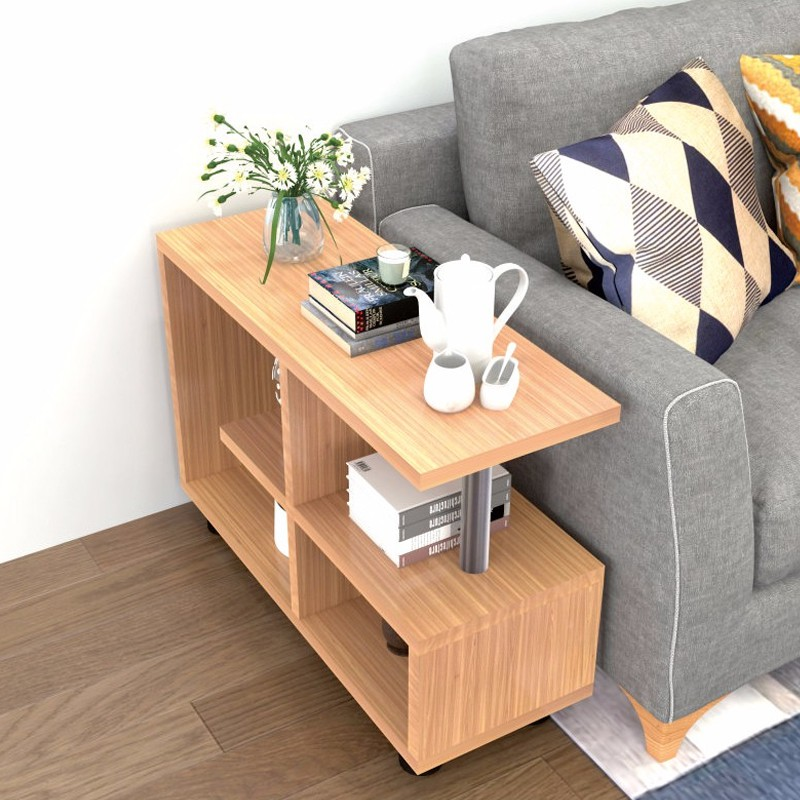 Tea Table Modern Creative Sofa Side, Small Side Tables For Living Room With Storage