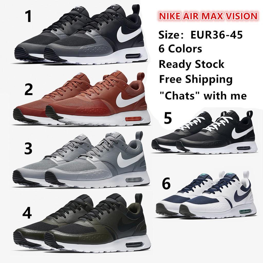 81a462e872 Nike Air Max Vision 918230-400 White/Midnight Navy US 7 (250mm) | Shopee  Singapore