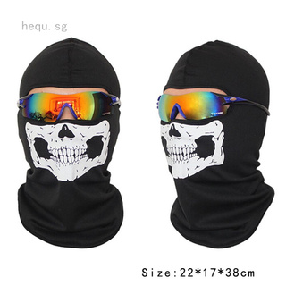 Skull Balaclava Roblox Call Of Duty Cod Cs Balaclava Ghost Skull Mask Face Hood Biker Halloween Cosplay Shopee Singapore
