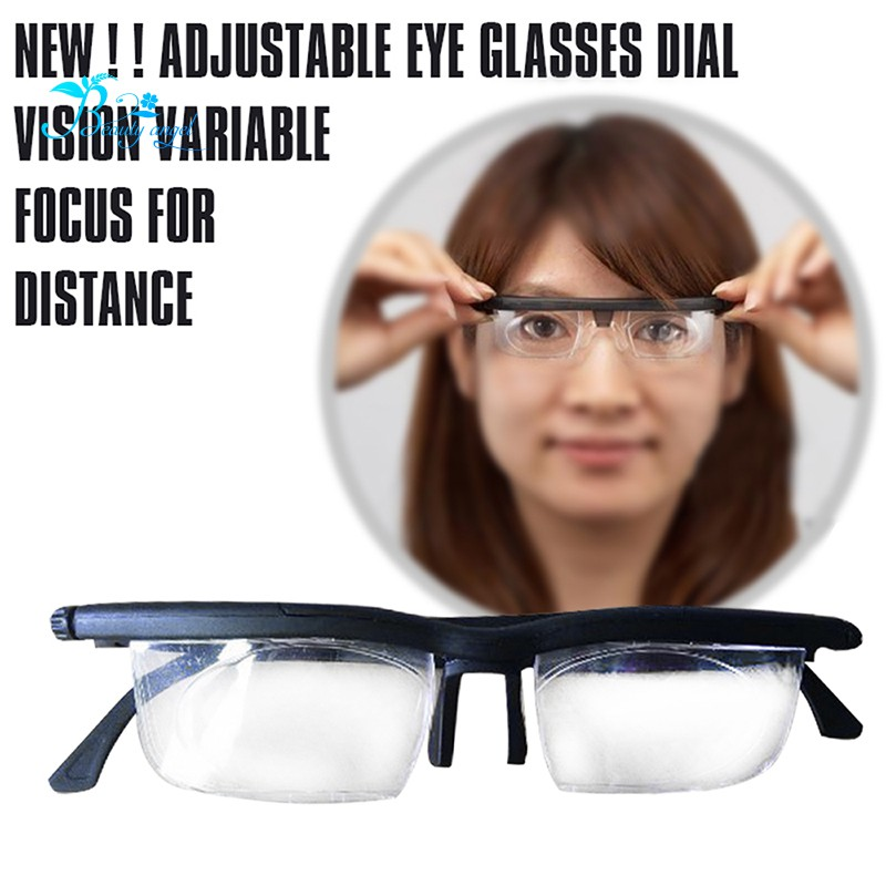 6384e6d14a5 ✳NEW ! ! Adjustable Eye Glasses Dial Vision Variable Focus For ...