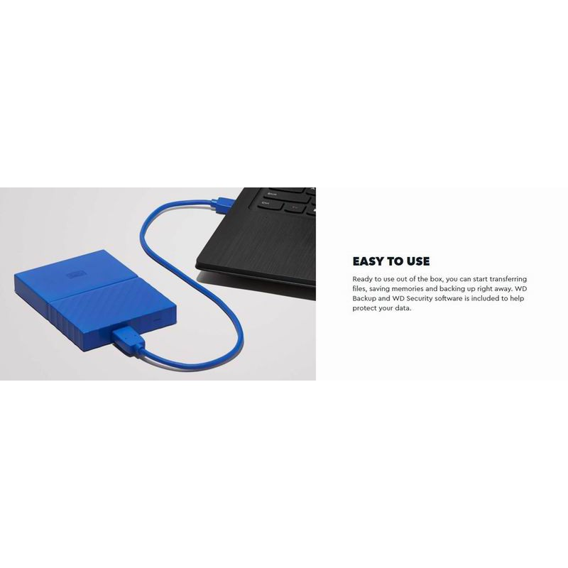WD 1TB 2TB My Passport Portable Storage Hard Disk Hardisk