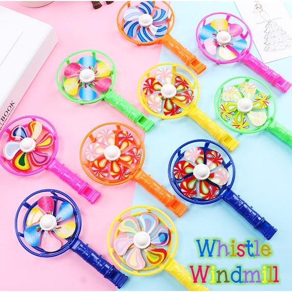 Whistle Windmill Kids Children School Birthday Party Event Goodie Bag Gifts Christmas Day Parties Gift Set