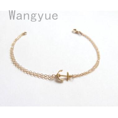 Best Friend Gifts Anchor Bracelet